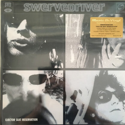 """Swervedriver - Ejector Seat Reservation (LP, Album, RE, Sil + 12"""", S/Sided, Etch, Sil + Ltd)"""