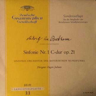 """Ludwig van Beethoven, Symphonie-Orchester Des Bayerischen Rundfunks, Eugen Jochum - Sinfonie Nr.1 C-dur op. 21 (11"""")"""