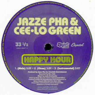 "Jazze Pha & Cee-Lo Green* - Happy Hour (12"")"