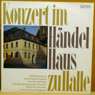 Georg Friedrich Händel - Konzert Im Händel-Haus Zu Halle (LP, RP, Blu)