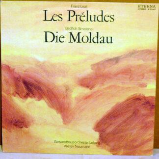 Franz Liszt / Bedřich Smetana, Gewandhausorchester Leipzig / Václav Neumann - Les Préludes / Die Moldau (LP, Album, RE, Blu)
