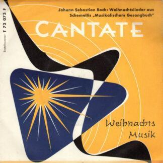 """Johann Sebastian Bach - Weihnachtslieder Aus Schemellis """"Musikalischem Gesangbuch"""" (7"""")"""