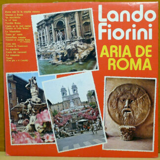 Lando Fiorini - Aria De Roma (LP, Comp)