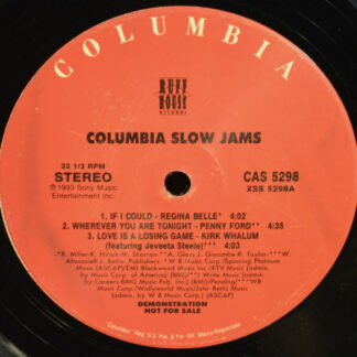 "Various - Columbia Slow Jams (12"", Comp, Promo, Smplr)"