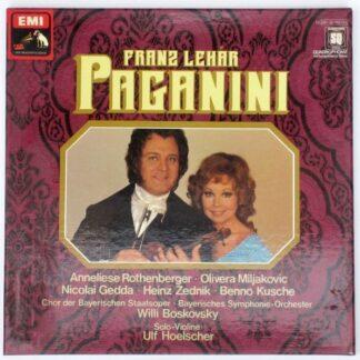 Franz Lehár - Paganini (2xLP, Quad + Box)