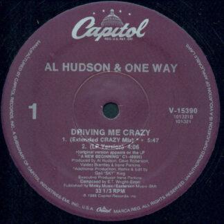 "Al Hudson & One Way - Driving Me Crazy (12"")"
