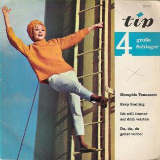 "Tony Tornado* / Belinda Uhl - 4 Große Schlager (7"", EP, Mono)"
