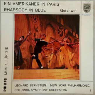 """Gershwin*, Columbia Symphony Orchestra, Leonard Bernstein - Ein Amerikaner In Paris / Rhapsody In Blue (10"""", Comp, Mono)"""