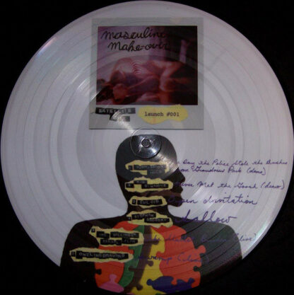 Various - Masculine Make-Over (LP, Comp, Ltd, Pic)