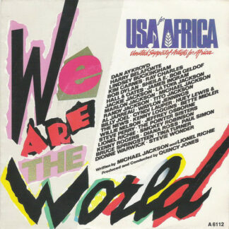 """USA For Africa - We Are The World (7"""")"""