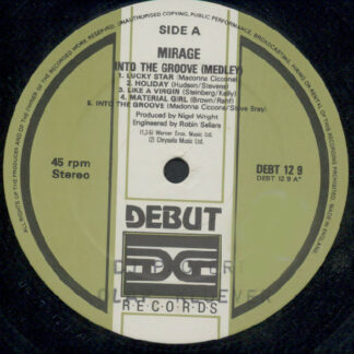 """Mirage (12) - Into The Groove (Medley) (12"""")"""
