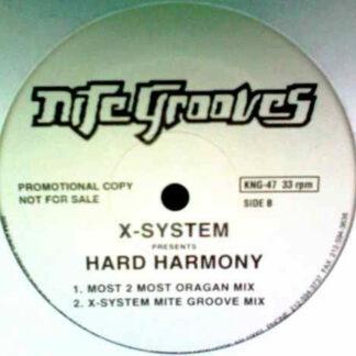 """X-System - Hard Harmony (12"""", Promo)"""