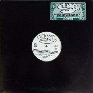 """Shaq* Featuring The Infamous Mobb Deep* And Lord Tariq - Legal Money / Legal Money Epic Remix (12"""", Promo)"""