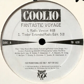 "Coolio - Fantastic Voyage (12"", Promo)"
