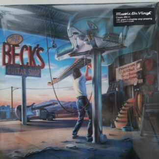 Jeff Beck With Terry Bozzio And Tony Hymas - Jeff Beck's Guitar Shop (LP, Album, RE)