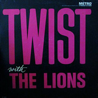 The Lions (3) - Twist With The Lions (LP, Album, Mono)