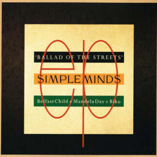 "Simple Minds - Ballad Of The Streets (12"", EP)"