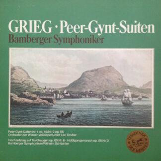 Grieg*, Bamberger Symphoniker, Orchester Der Wiener Volksoper* - Peer-Gynt-Suiten (LP, NO )