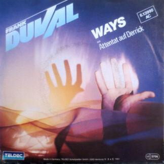 "Frank Duval - Ways (7"", Single)"