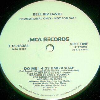 """Bell Biv DeVoe - Do Me! (12"""", Promo)"""