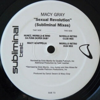 "Macy Gray - Sexual Revolution (Subliminal Mixes) (12"", TP)"