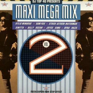 Various - Maxi Mega Mix Vol. II (LP, Mixed)
