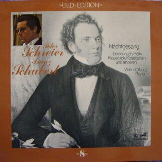 Franz Schubert, Peter Schreier, Walter Olbertz -  Nachtgesang (LP, Gat)