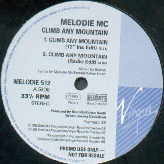 "Melodie MC - Climb Any Mountain (12"", Promo)"