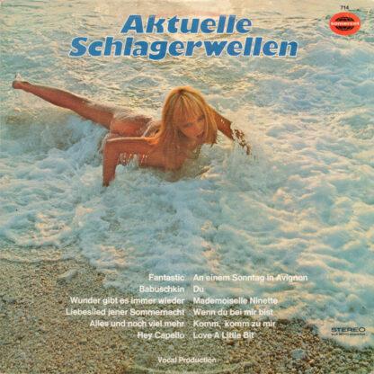 Unknown Artist - Aktuelle Schlagerwellen (LP)