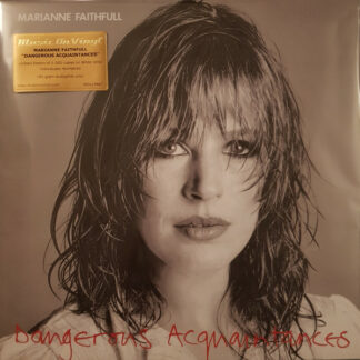 Marianne Faithfull - Dangerous Acquaintances (LP, Album, Ltd, Num, RE, Whi)