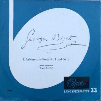 "Ernst Graf, Wiener Symphoniker - Georges Bizet - L'Arlésienne-Suite Nr.1 Und Nr.2 (10"", Mono)"