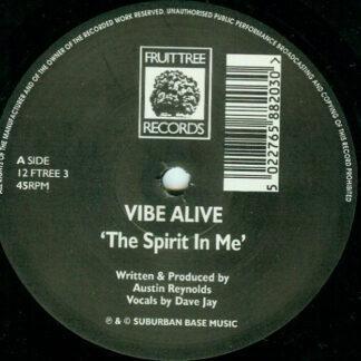 """Vibe Alive - The Spirit In Me (12"""")"""