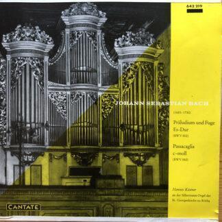 """Hannes Kästner, Johann Sebastian Bach - Präludium und Fuge Es-Dur (10"""")"""