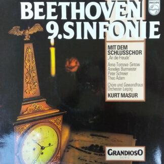 Beethoven*, Anna Tomowa-Sintow, Annelies Burmeister, Peter Schreier, Theo Adam, Chorus* & Gewandhaus Orchestra, Leipzig*, Kurt Masur - Beethoven 9.Sinfonie (LP, Album)