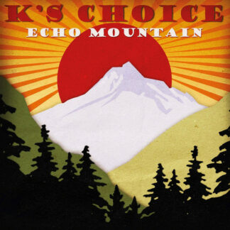 K's Choice - Echo Mountain (LP, Album, Ltd, Num, RE, Red)