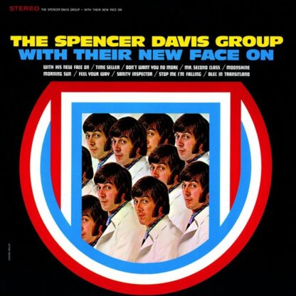 The Spencer Davis Group - With Their New Face On (LP, Album, Ltd, Num, RE, Red)