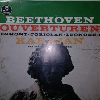 "Ludwig van Beethoven, Philharmonia Orchestra, Herbert von Karajan - Egmont, Coriolan, Leonore 3 (10"", Album, Mono)"