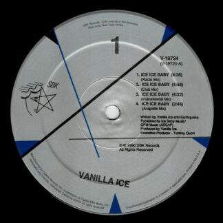 """Vanilla Ice - Ice Ice Baby (12"""")"""