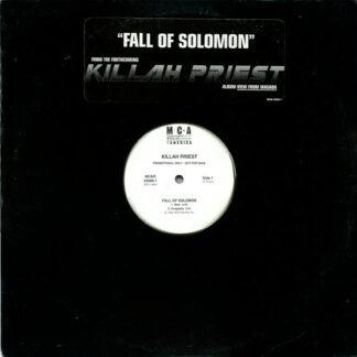 "Killah Priest - Fall Of Solomon (12"", Pro)"