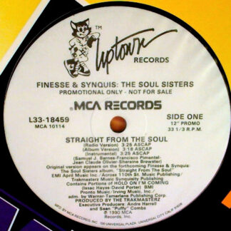 """Finesse & Synquis - Straight From The Soul (12"""", Single, Promo)"""