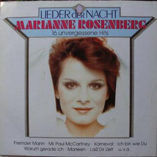 Marianne Rosenberg - Lieder Der Nacht - 16 Unvergessene Hits (LP, Comp)