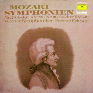 Mozart* - Symphonien Nr.29 A-dur Kv 201 Nr.39 Es-dur Kv 543 (LP)