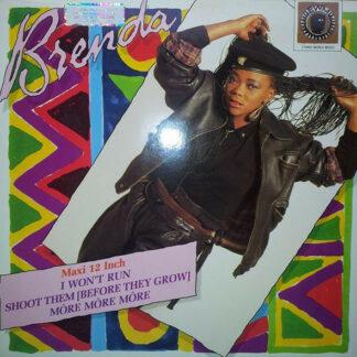 "Brenda Fassie - I Won't Run (12"", Maxi)"