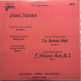 "Various, National Opera Orchestra - Grand Marches (10"", Album, Mono)"