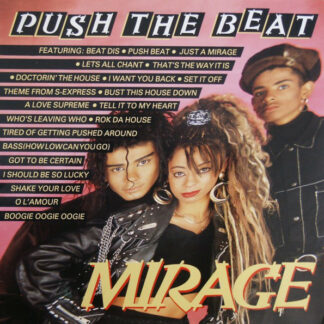 "Mirage (12) - Push The Beat (12"", P/Mixed)"