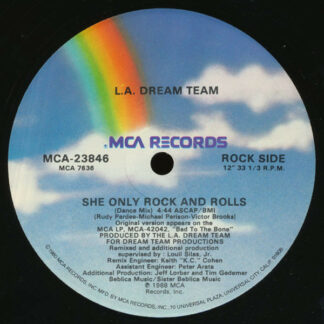 L.A. Dream Team - She Only Rock And Rolls (12