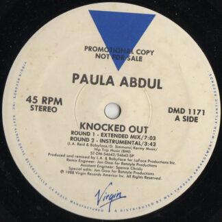 "Paula Abdul - Knocked Out (12"", Promo, Spe)"