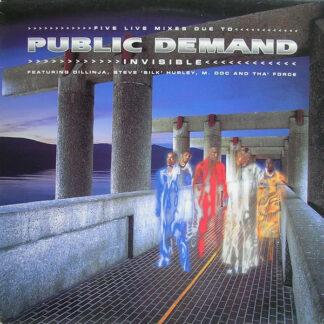 """Public Demand - Invisible (12"""")"""