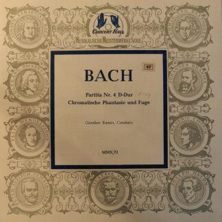 """Johann Sebastian Bach - Partita Nr. 4 D-Dur (10"""", Mono)"""