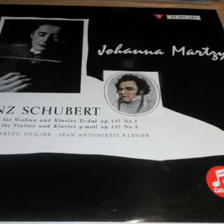"""Schubert* / Johanna Martzy, Jean Antonietti - Sonatine Für Violine Und Klavier Op. 137  (10"""", Mono)"""